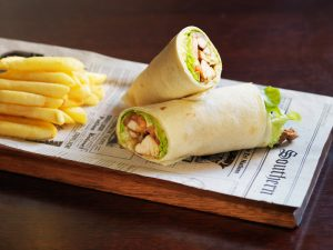 Rag Famish Hotel North Sydney Bistro Fish Wrap