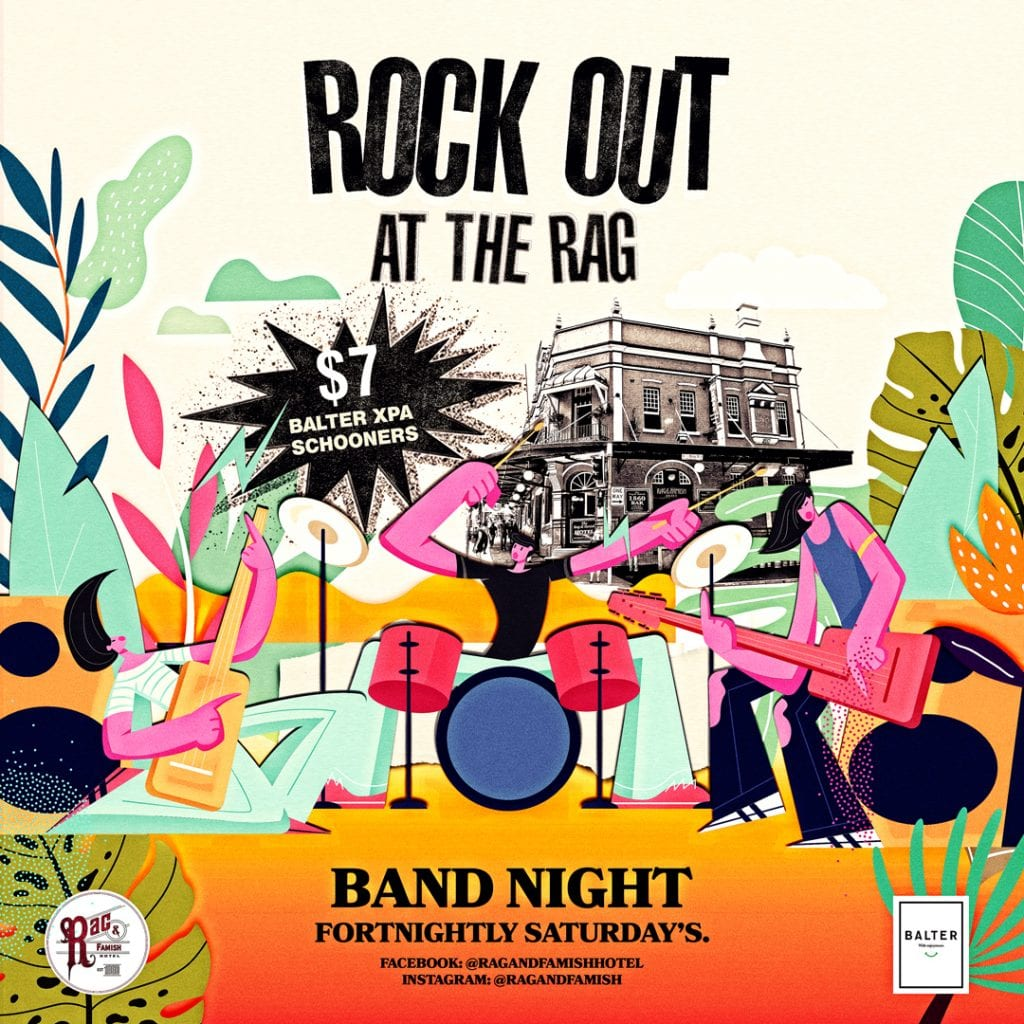 Whats On Rock Out At The Rag 2019 08 19